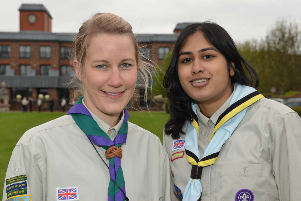 GLSW Queens Scouts at Windsor